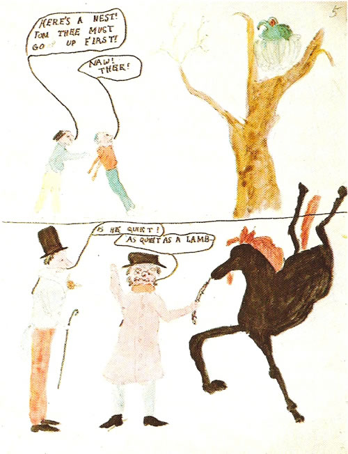 Lewis Carroll Postcard
